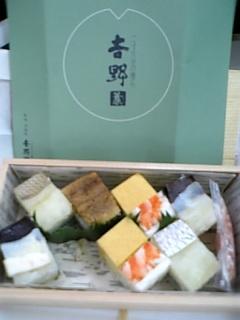 新幹線にてディナー☆
