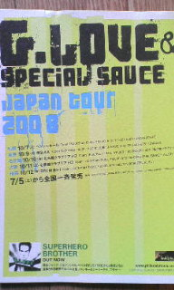 G.LOVE & SPECIAL SAUCE・Live