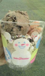 アイスクリーム。
